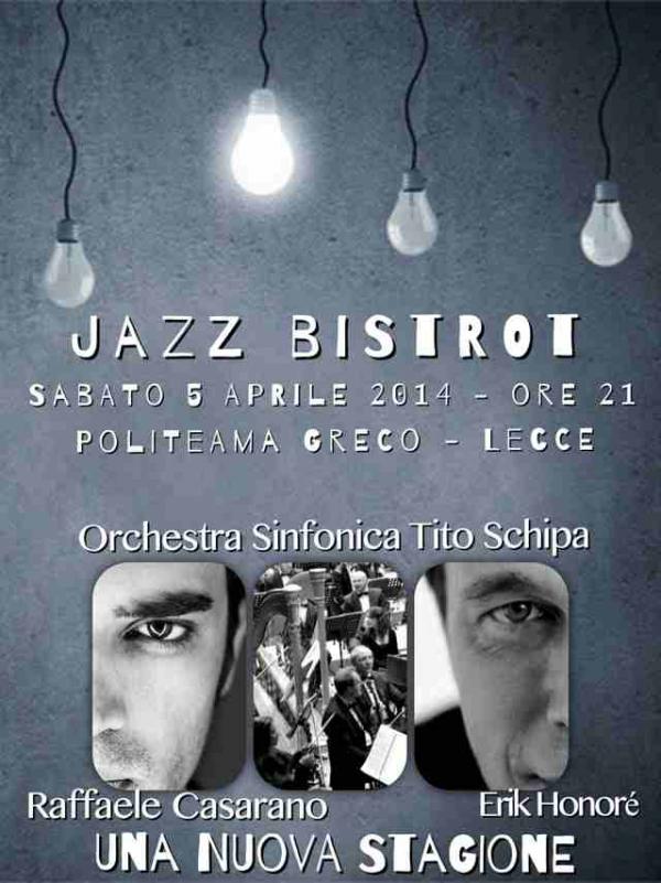 Jazz Bistrot: concerto-evento con Casarano e l'Orchestra Schipa