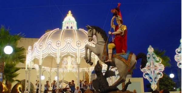 La festa patronale di San Giorgio a Ortelle