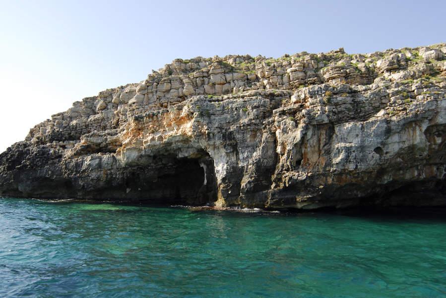 Le grotte da visitare