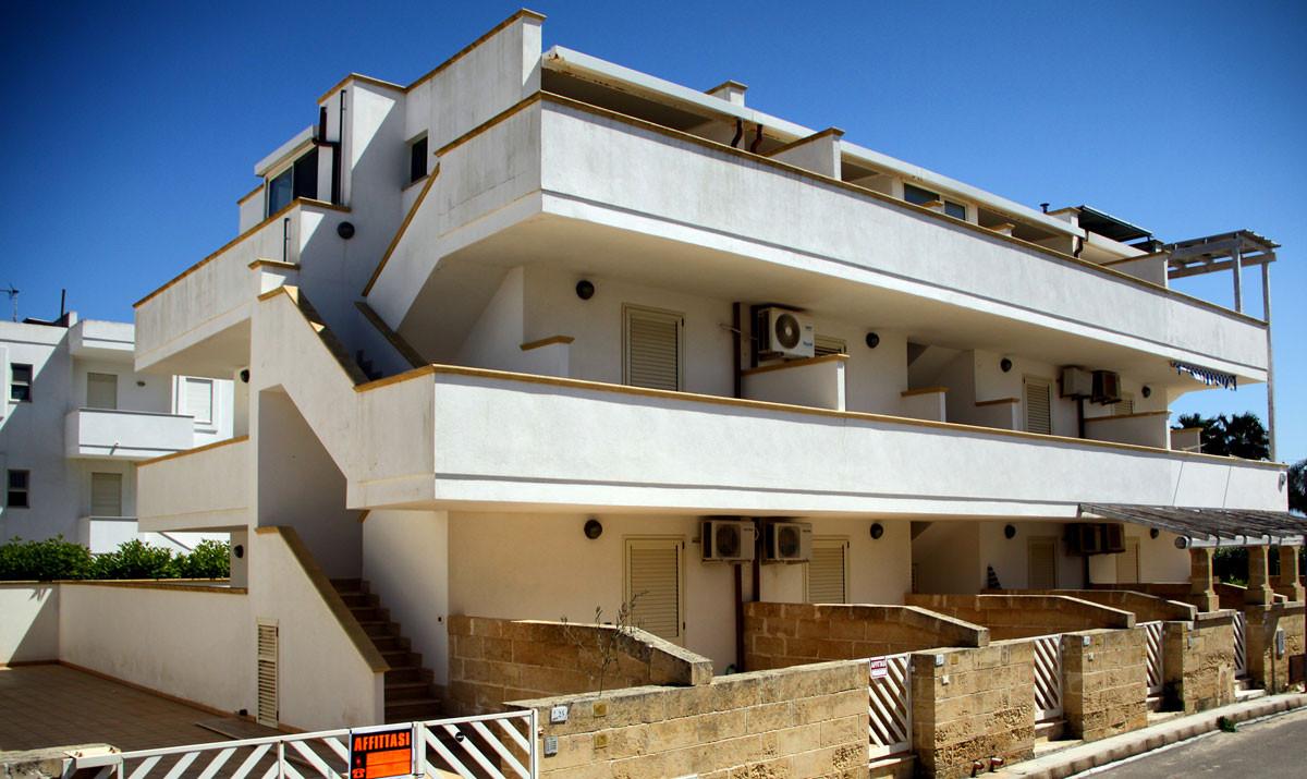 Appartamento sul mare Torre Mozza